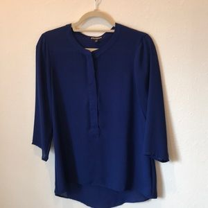 Navy Blue Express Blouse, Size Small